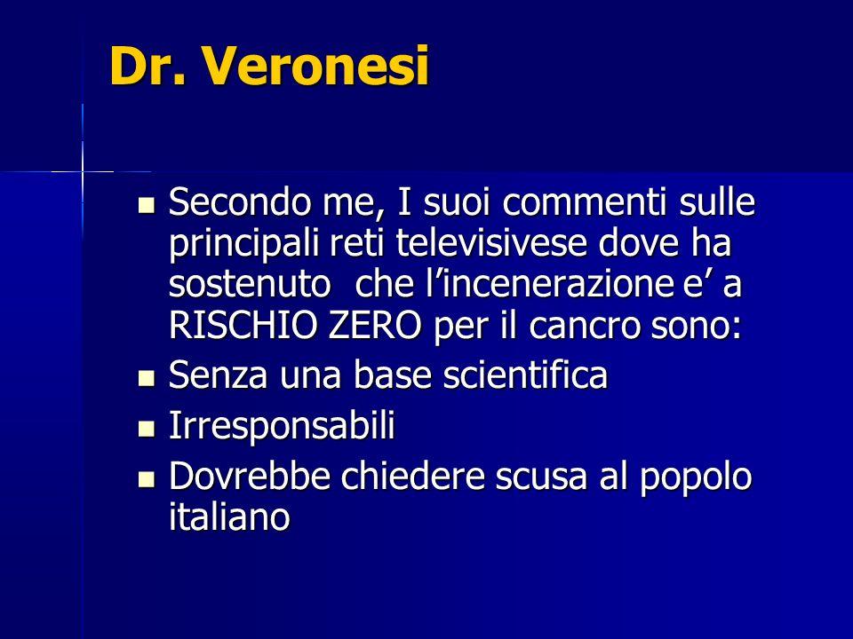 Dr. Veronesi