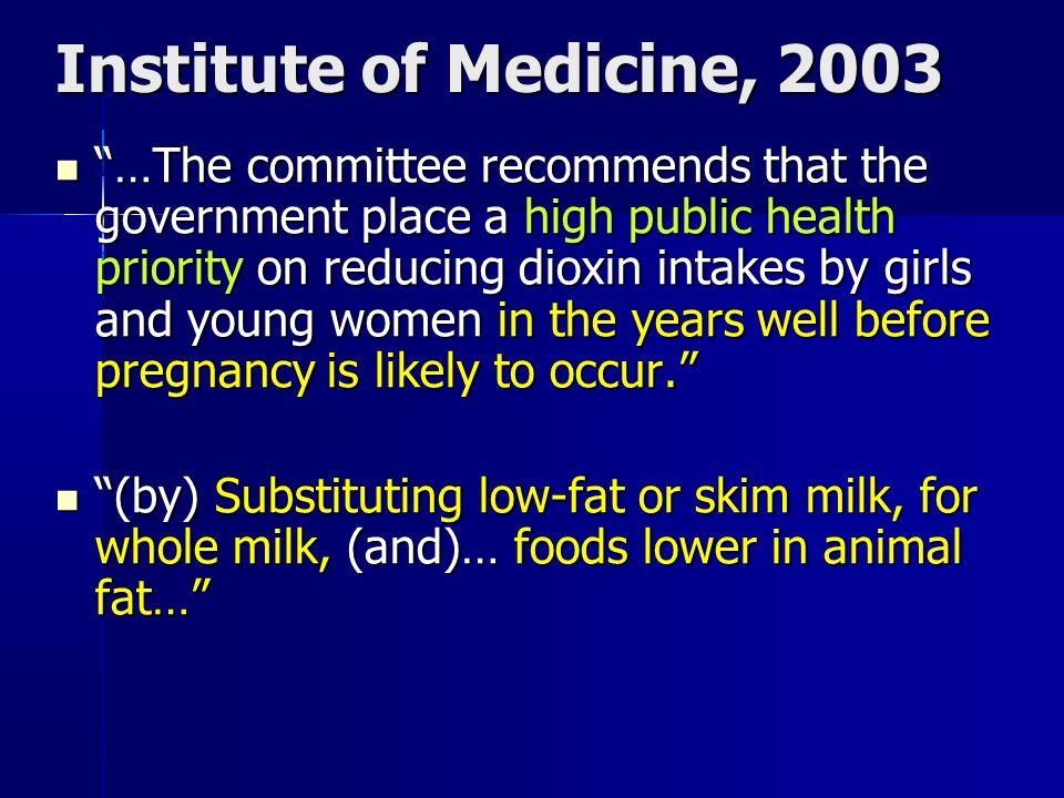 Institute of Medicine, 2003