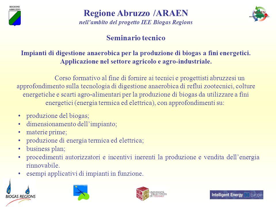 Regione Abruzzo /ARAEN