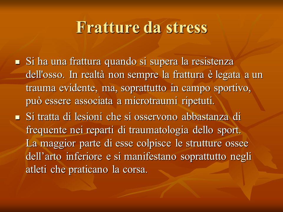 Fratture da stress