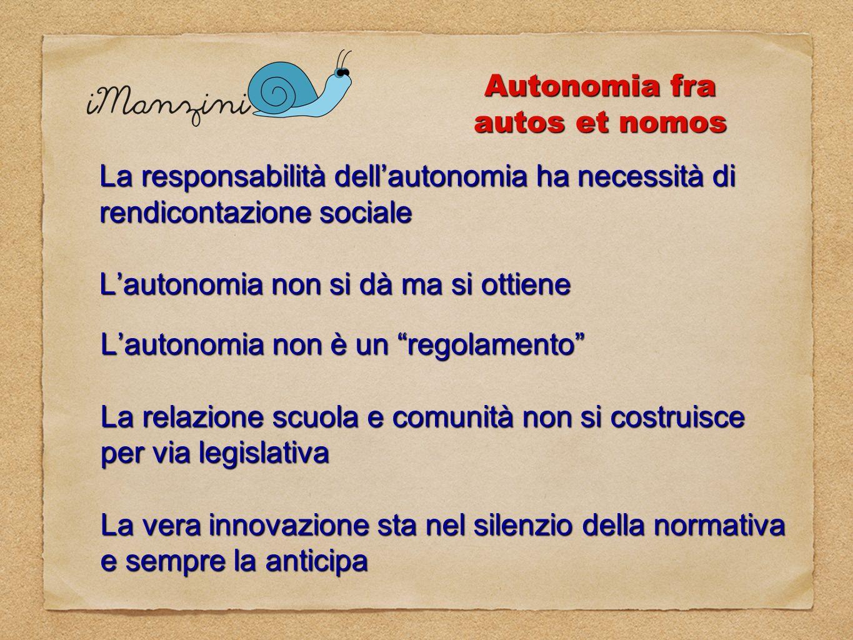 Autonomia fra autos et nomos