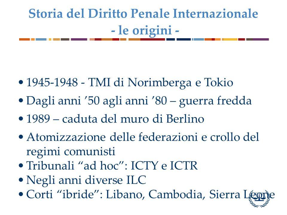 Storia del Diritto Penale Internazionale