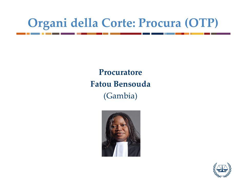 Organi della Corte: Procura (OTP)
