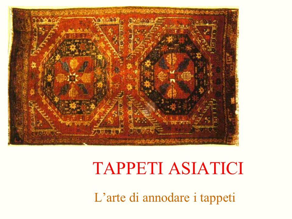 L'arte di annodare i tappeti