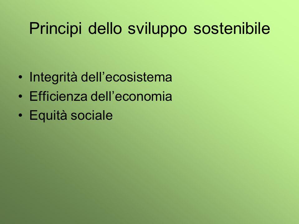 Principi dello sviluppo sostenibile