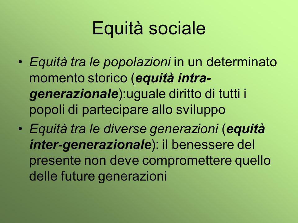 Equità sociale
