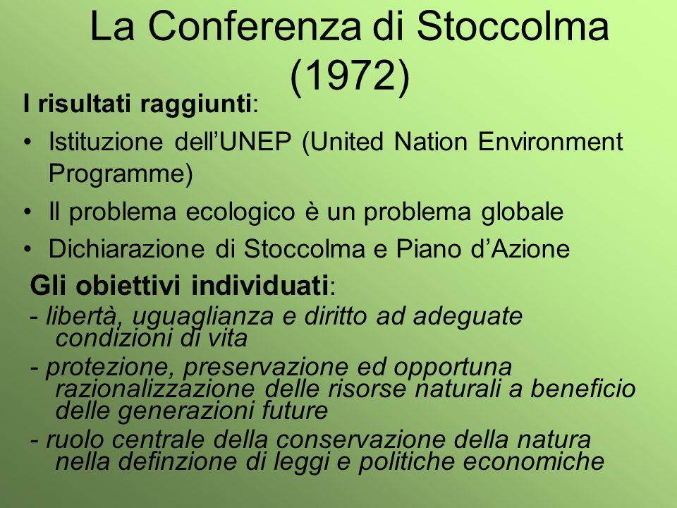 La Conferenza di Stoccolma (1972)