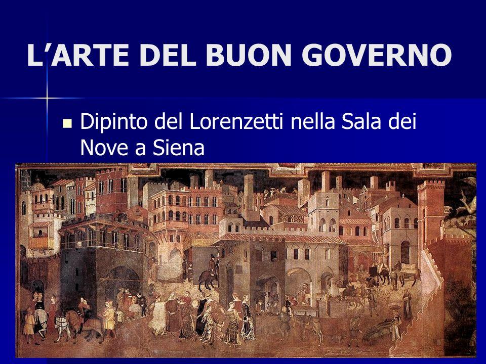 L'ARTE DEL BUON GOVERNO