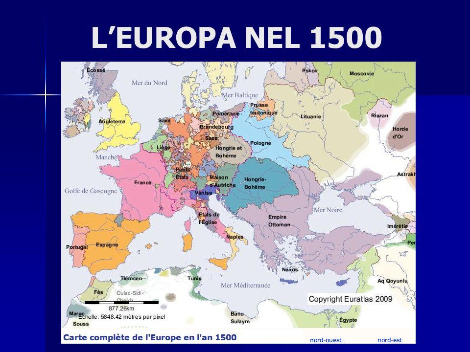 L'EUROPA NEL 1500