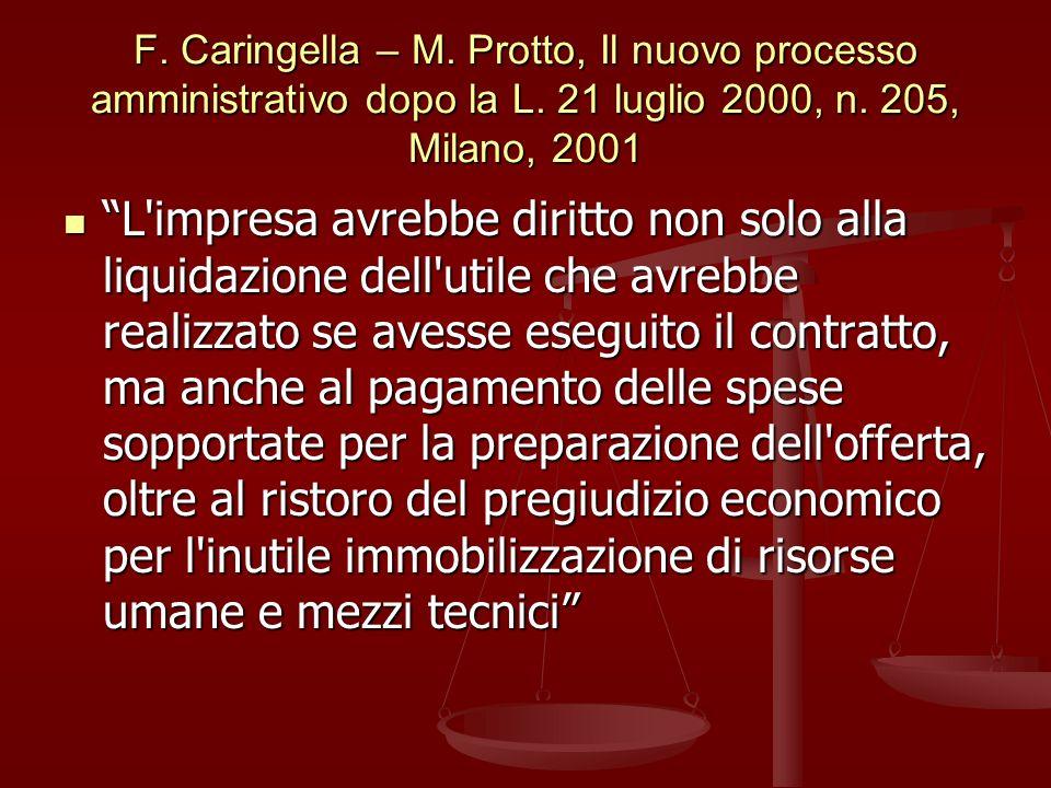 F. Caringella – M. Protto, Il nuovo processo amministrativo dopo la L