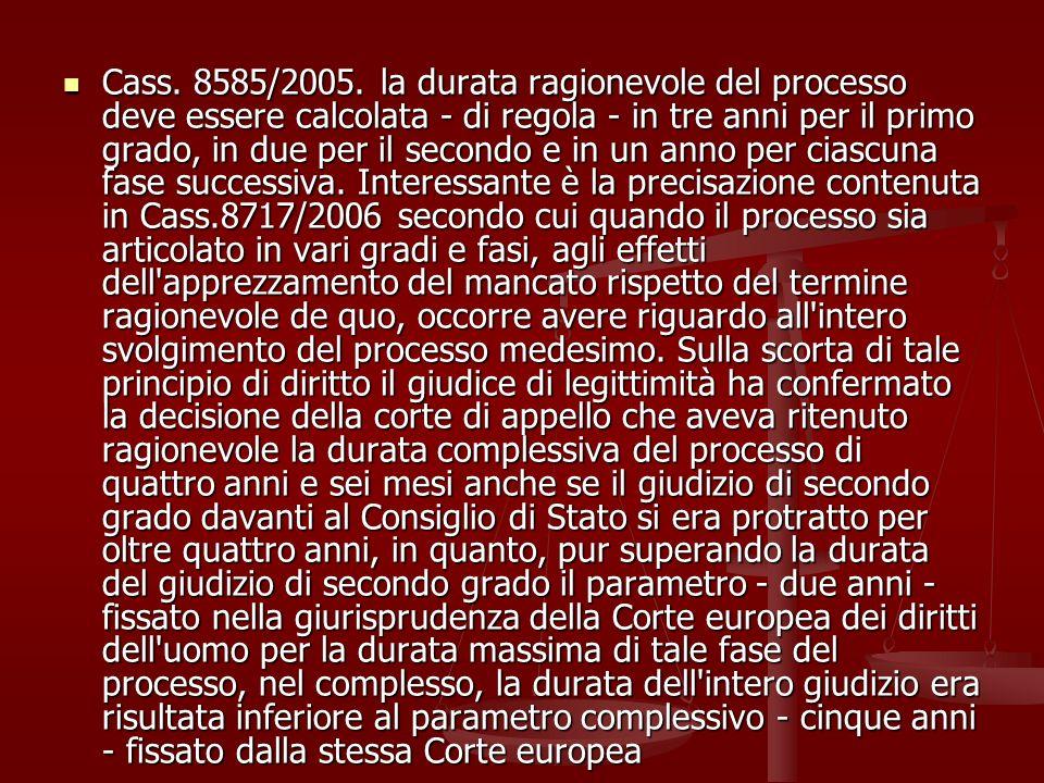 Cass. 8585/2005.