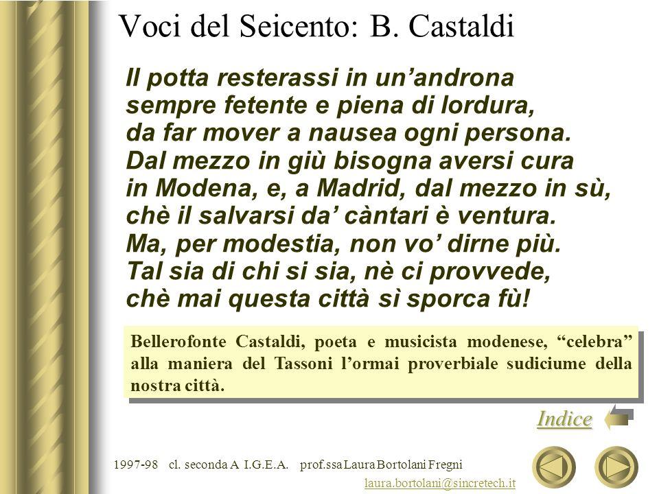 Voci del Seicento: B. Castaldi