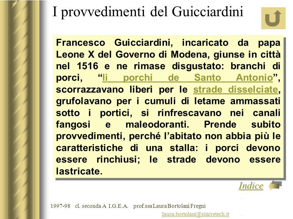 I provvedimenti del Guicciardini