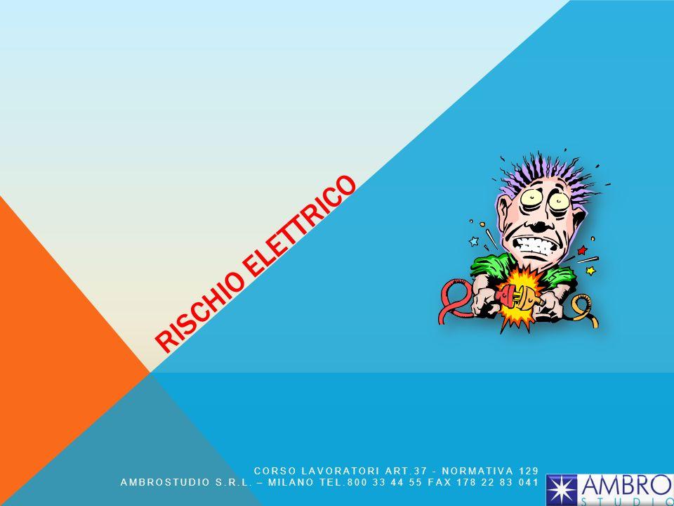 Rischio elettrico CORSO LAVORATORI ART.37 - NORMATIVA 129
