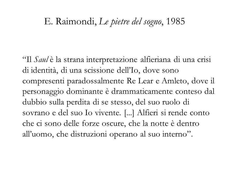 E. Raimondi, Le pietre del sogno, 1985