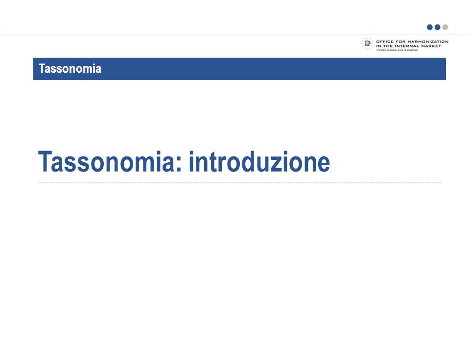 Tassonomia: introduzione