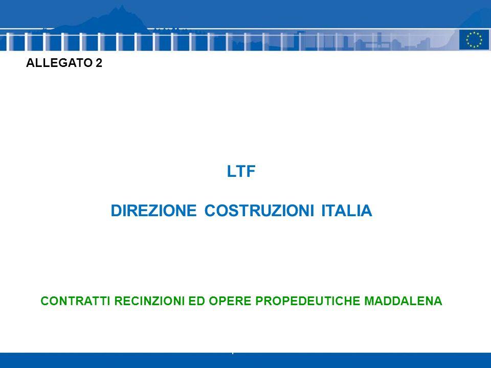 LTF DIREZIONE COSTRUZIONI ITALIA