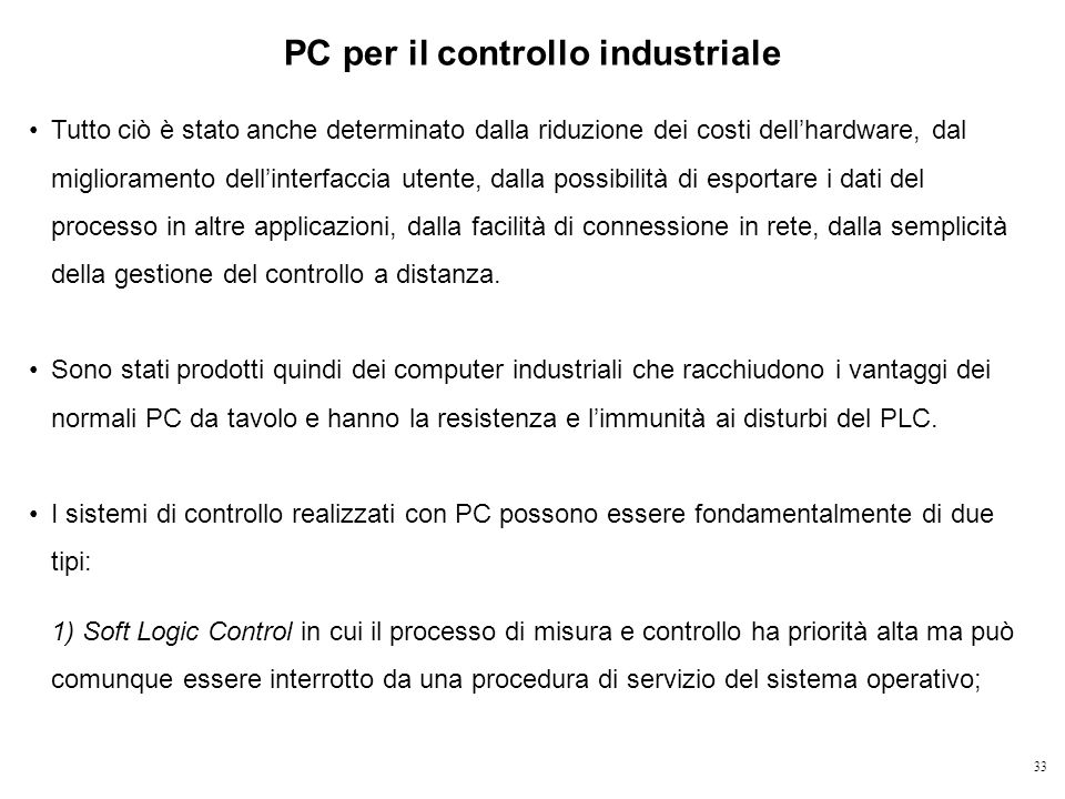 PC per il controllo industriale