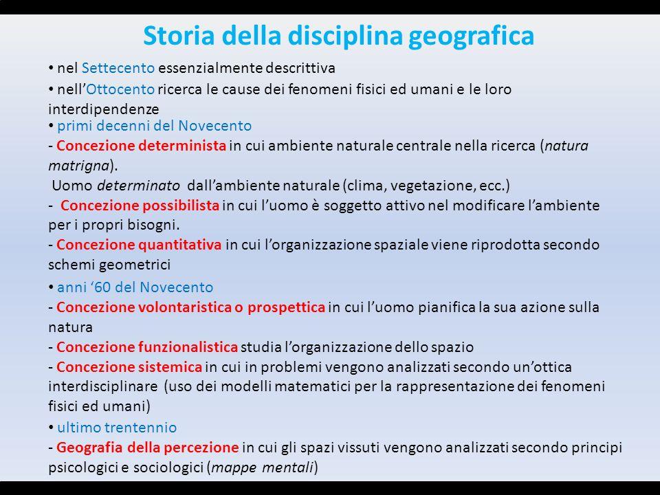 Storia della disciplina geografica