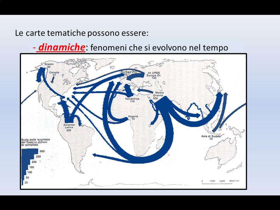 dinamiche: fenomeni che si evolvono nel tempo