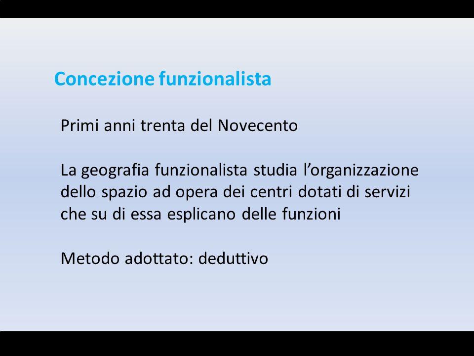 Concezione funzionalista