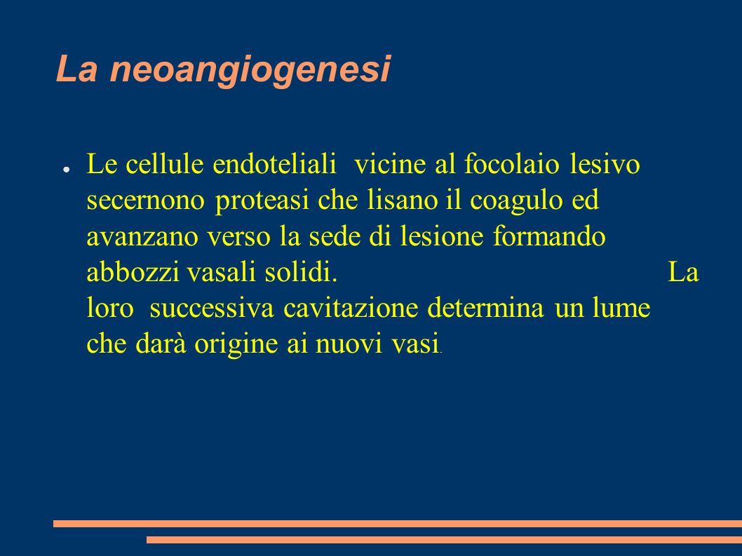 La neoangiogenesi