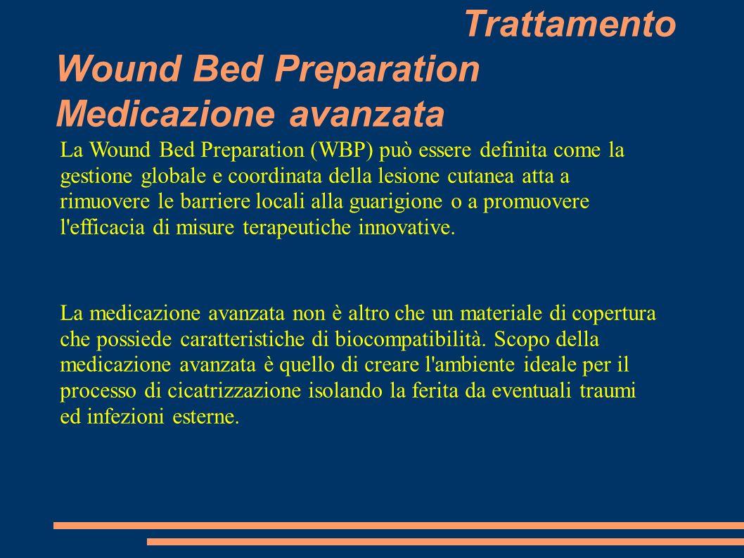 Trattamento Wound Bed Preparation Medicazione avanzata