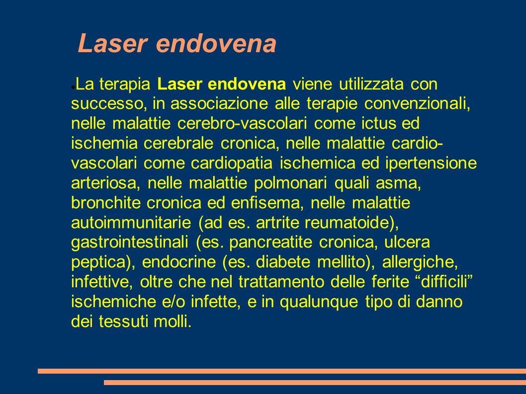 Laser endovena