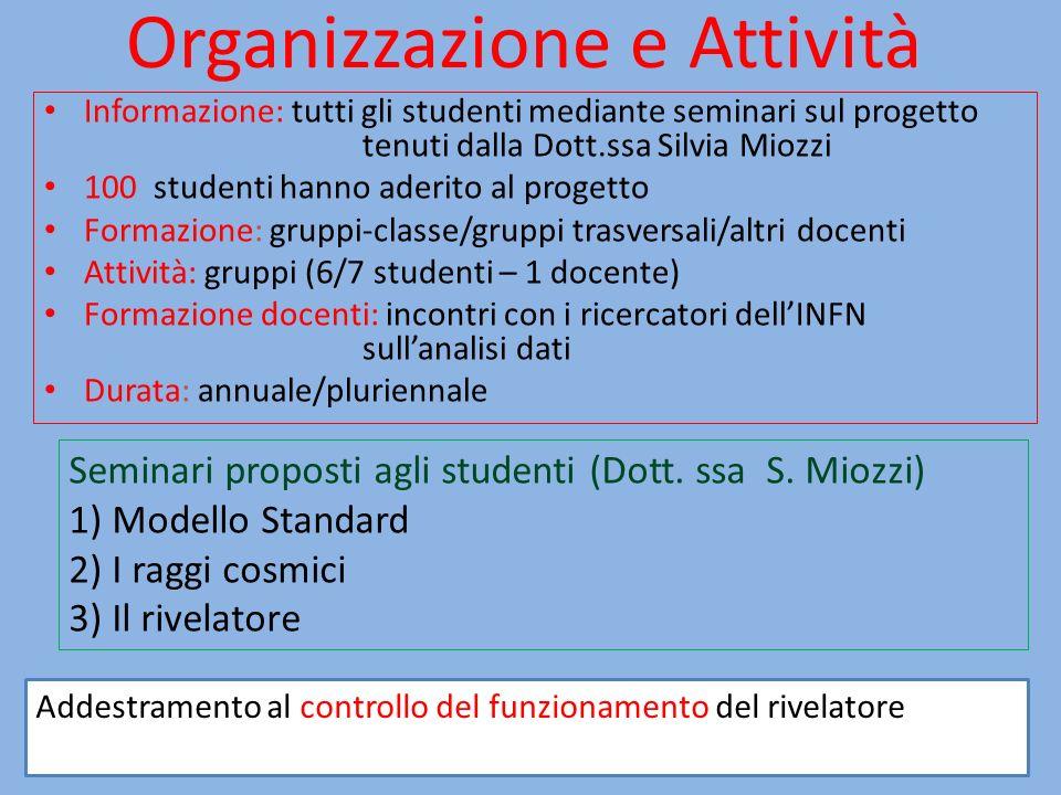 Organizzazione e Attività