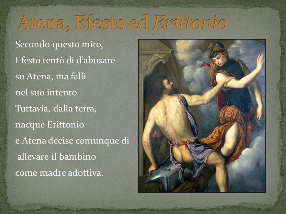 Atena, Efesto ed Erittonio