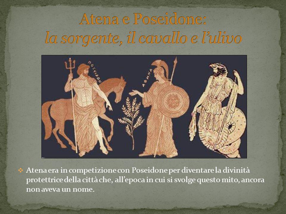 Atena e Poseidone: la sorgente, il cavallo e l'ulivo