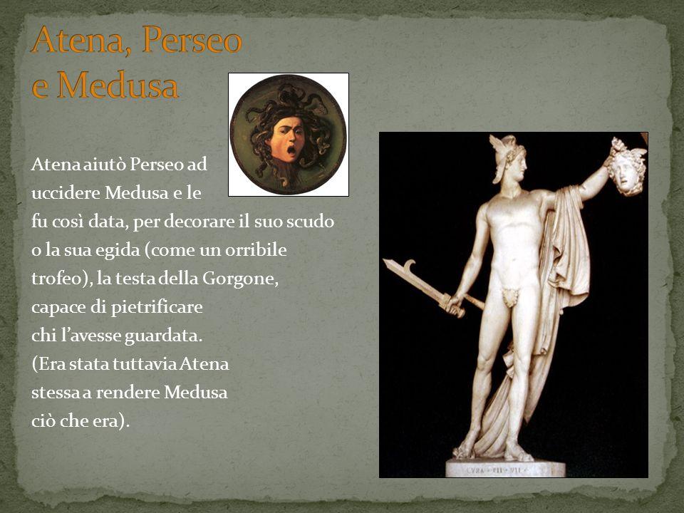 Atena, Perseo e Medusa