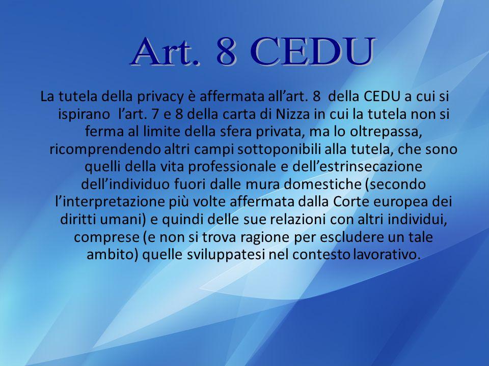 Art. 8 CEDU