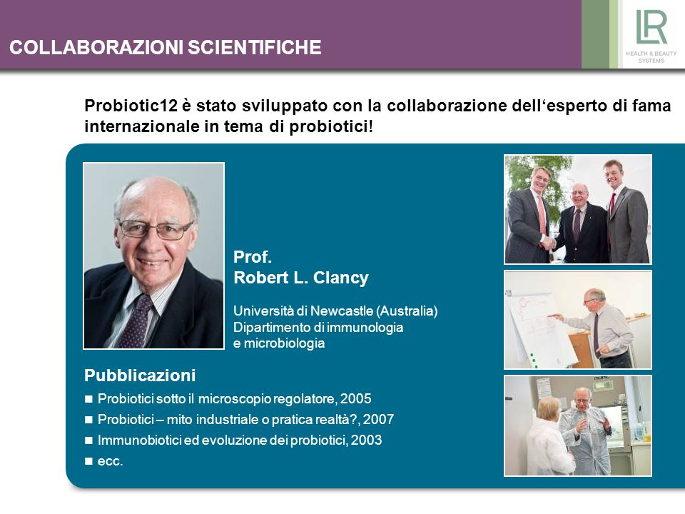 COLLABORAZIONI SCIENTIFICHE