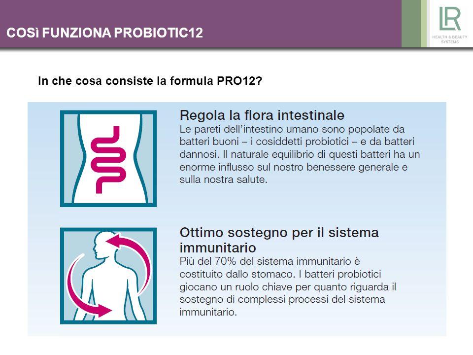 COSì FUNZIONA PROBIOTIC12