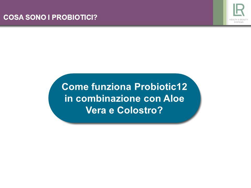 Come funziona Probiotic12 in combinazione con Aloe Vera e Colostro