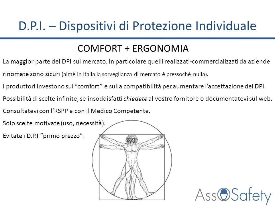 D.P.I. – Dispositivi di Protezione Individuale