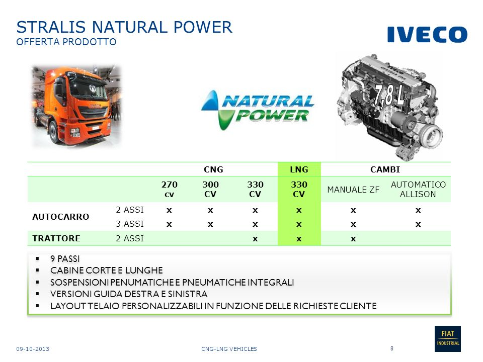 STRALIS NATURAL POWER OFFERTA PRODOTTO