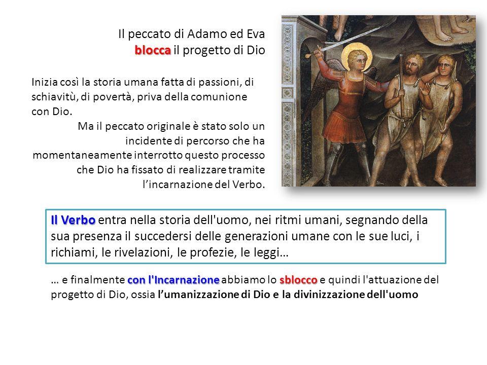 Il peccato di Adamo ed Eva blocca il progetto di Dio