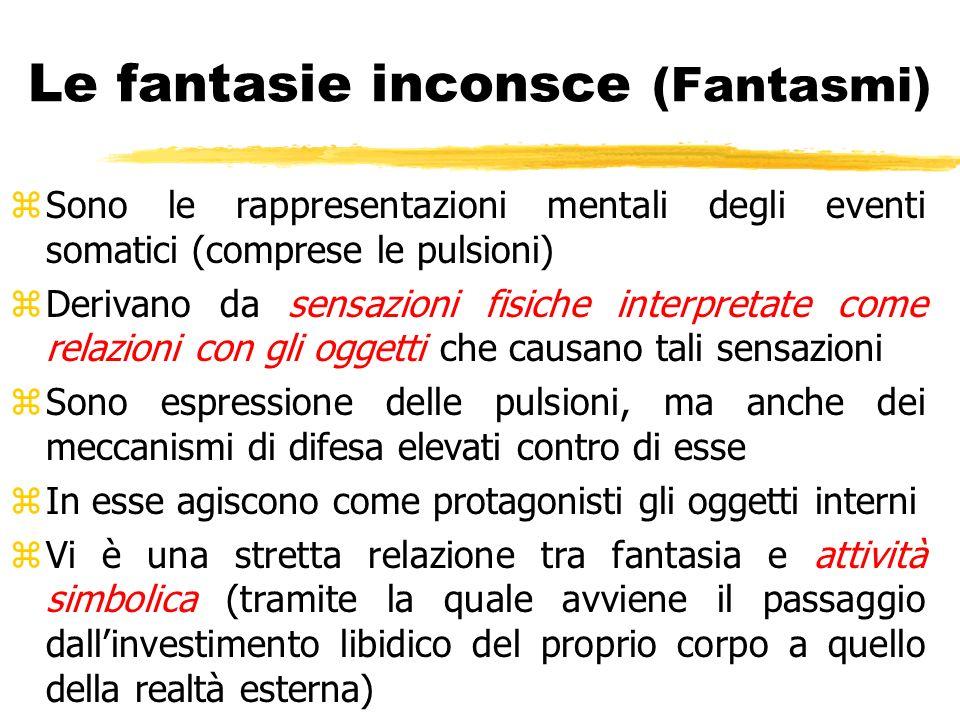 Le fantasie inconsce (Fantasmi)