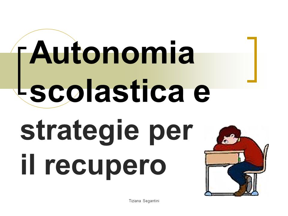 Autonomia scolastica e