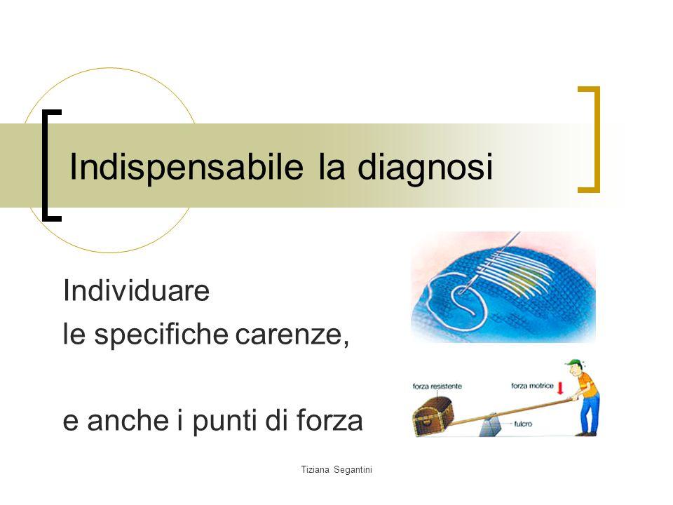 Indispensabile la diagnosi