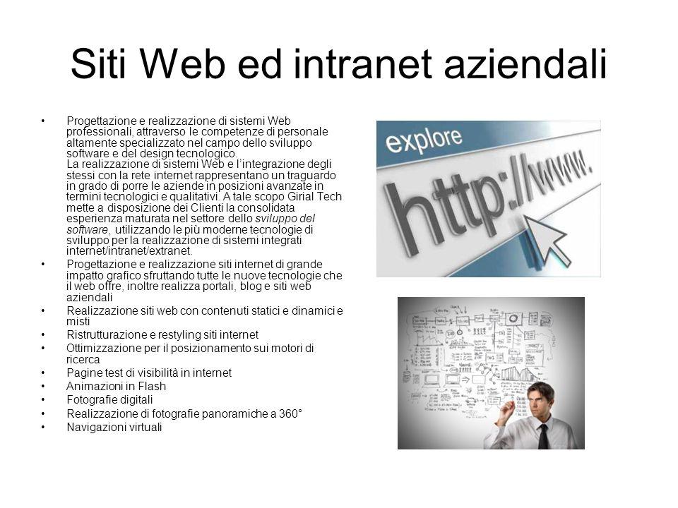 Siti Web ed intranet aziendali