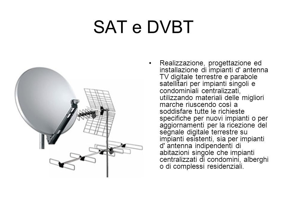 SAT e DVBT