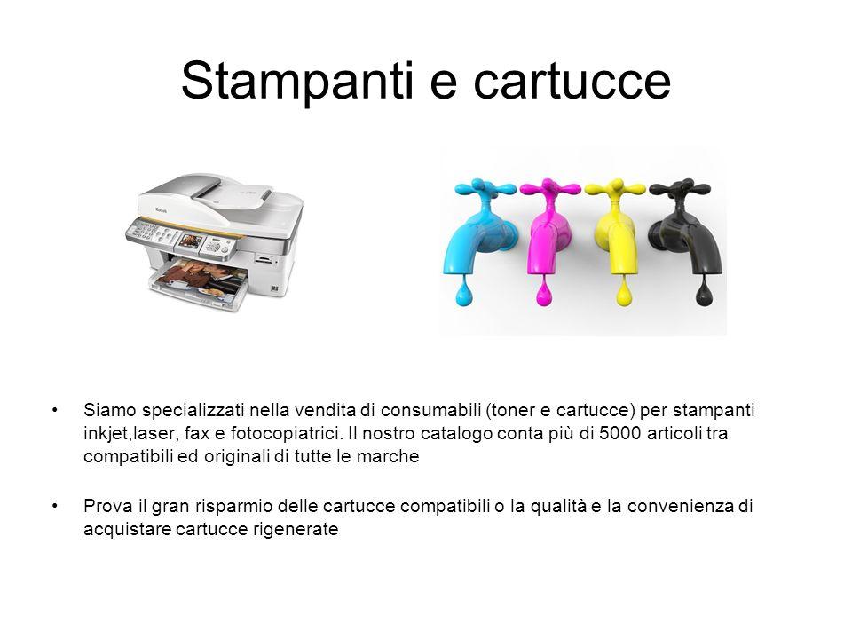 Stampanti e cartucce
