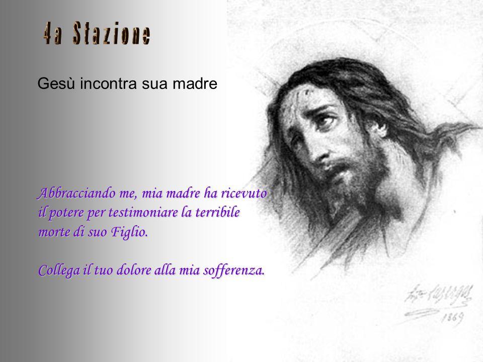 Gesù incontra sua madre