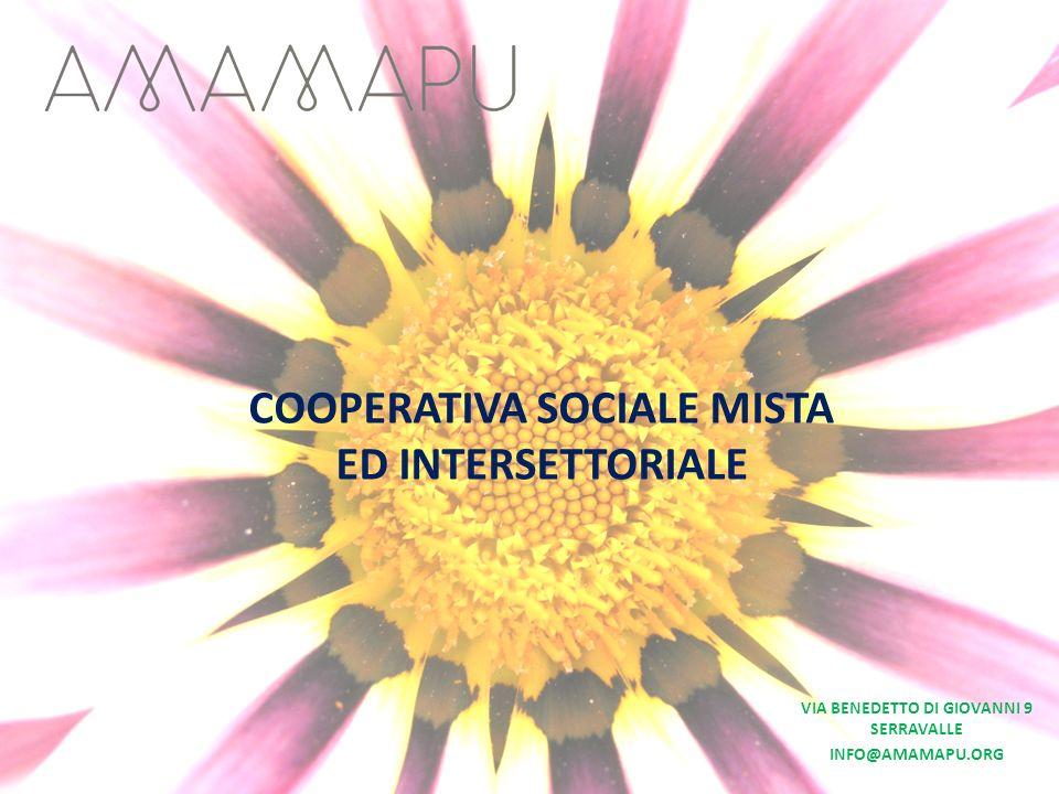 COOPERATIVA SOCIALE MISTA ED INTERSETTORIALE