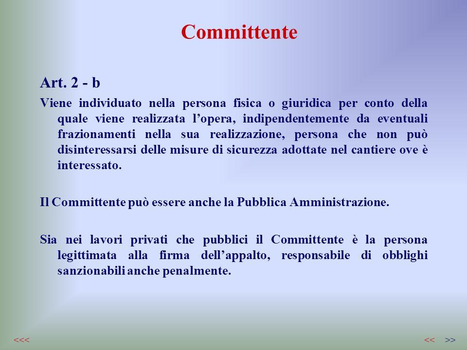 CommittenteArt. 2 - b.