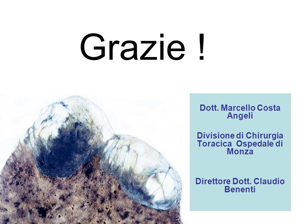Grazie ! Dott. Marcello Costa Angeli