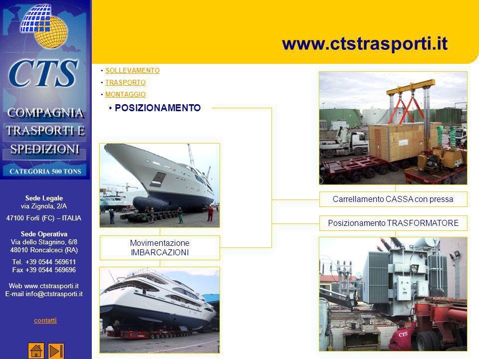 www.ctstrasporti.it POSIZIONAMENTO contatti